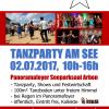 02.07.2017 Tanzparty am See > Zeitplan
